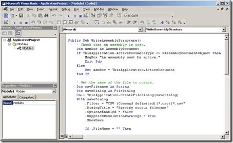 Paste code into VBA