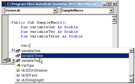 Mod the Machine: VBA Code Writing Tip
