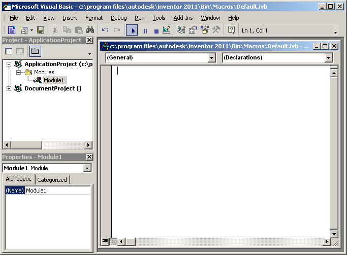 Mod the Machine: Visual Basic for Applications (VBA)