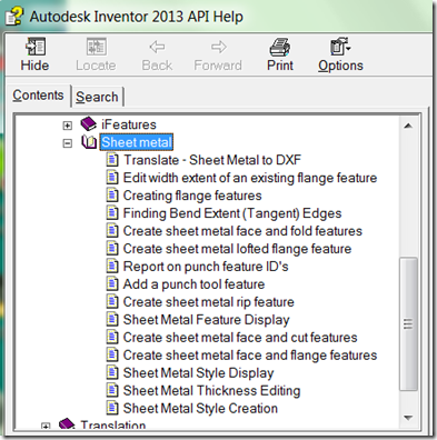 Mod The Machine C Help Examples For Sheet Metal