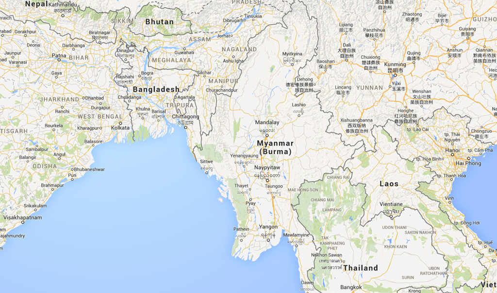 Myanmar Used To Be Called Burma And Is In Southeast Asia Bordering Thailand China Desh India Laos